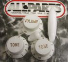 Knob Set for Fender Strat  White PK-0178-025